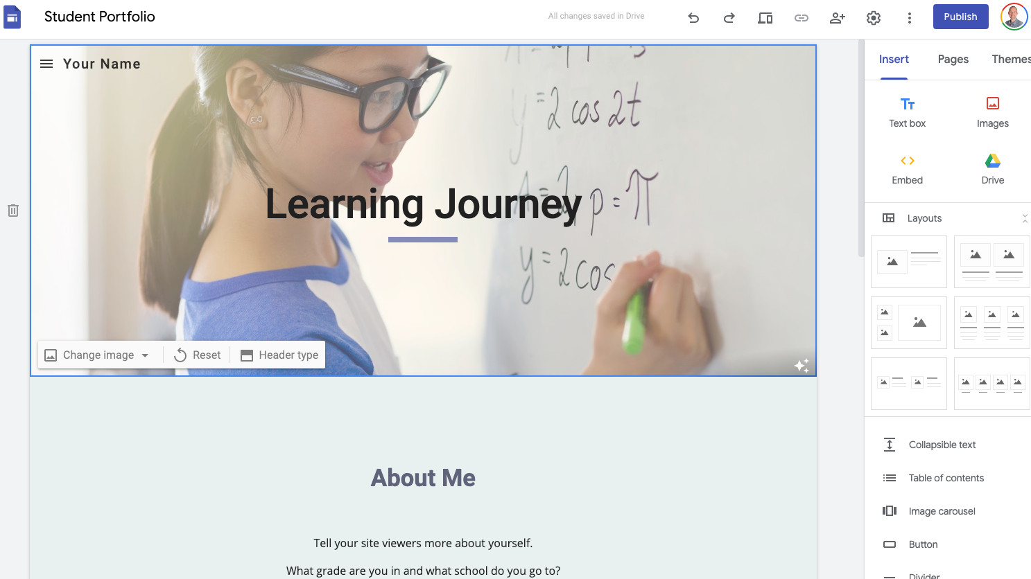 How to use Google Sites to create Learning Portal for your Company